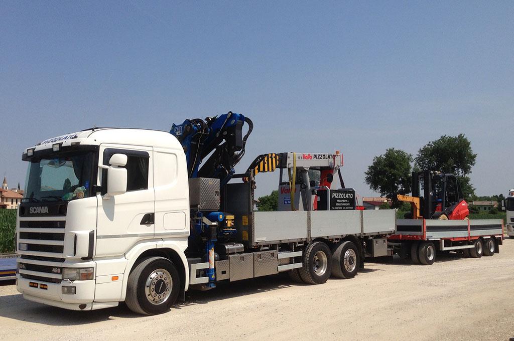 noleggio camion e autogru Treviso